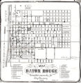 "1894 map of Baton Rouge ""Compiled expressly for City Directory""."