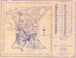 1970 Official Road Map Parish of East Baton Rouge