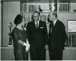 Ambassador and Mme. Louis Scheyuen of Belgium with Jack Christian