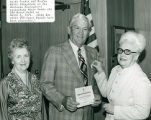 Mayor Dumas Receiving a Medal from the Daughters of the American Revolution