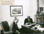 Woody Dumas with Senator Russell Long