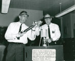 Woody Dumas and Joe Anderson Performing a Science Experiment