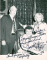 Mayor Dumas with Liberace