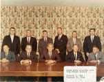 Mayor Dumas with the 1965-1968 City Council