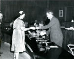 Bookmobile Driver Receiving an Award