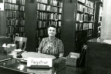 Eugenia Eilers at the Old Main Library