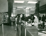 Circulation Desk at the Old Main Library