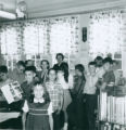 Fifth Graders at the Pride Branch Library