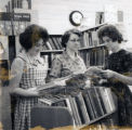 Linda Etue and Paula Huges at the Pride Branch Library