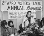 Second Ward Voters' League Annual Banquet