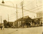 Elk's Theatre After the Fire