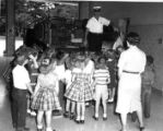 Children Touring a Fire Station