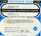 Louisiana National Bank Friendship Bond