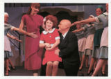 Molly Beth Blanchard (Annie) and Chip Davis (Oliver Warbucks)