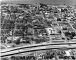 Aerial View of Downtown Baton Rouge Looking East